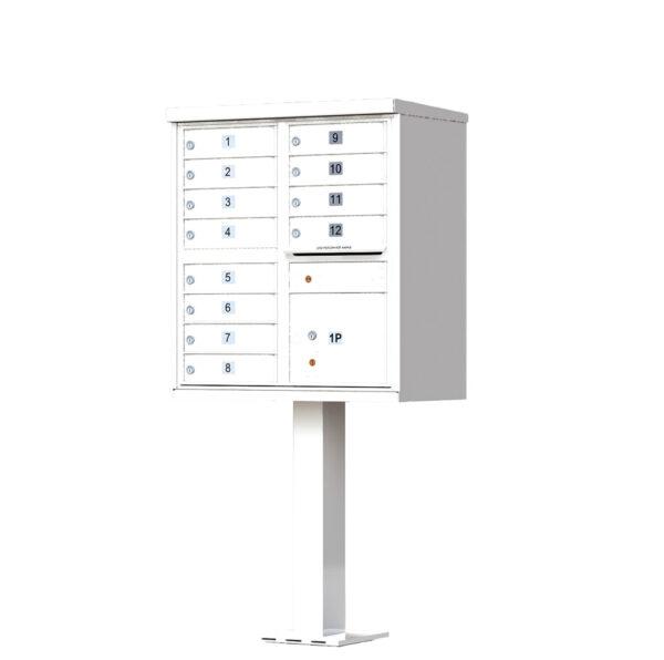 1570-12 12 Tenant Door Cluster Mailbox Unit – CBU