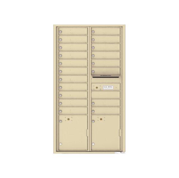 4C16D-19 19 Tenant Door Max-Height 4C Front Loading Mailbox