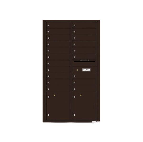 4C16D-20 20 Tenant Door Max-Height 4C Front Loading Mailbox