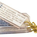 K86160 Parcel Locker Key Tag Kit