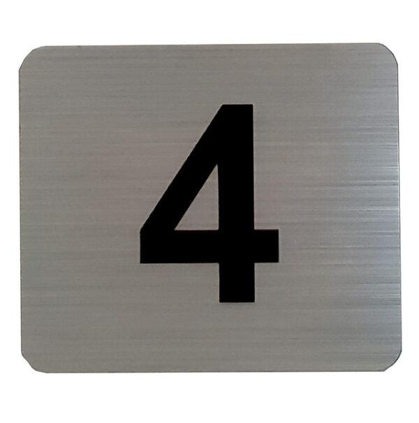 K91514 Decal – Tenant Number