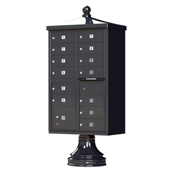 1570-13V2 13 Tenant Door Traditional Decorative Cluster Mailbox Unit–CBU