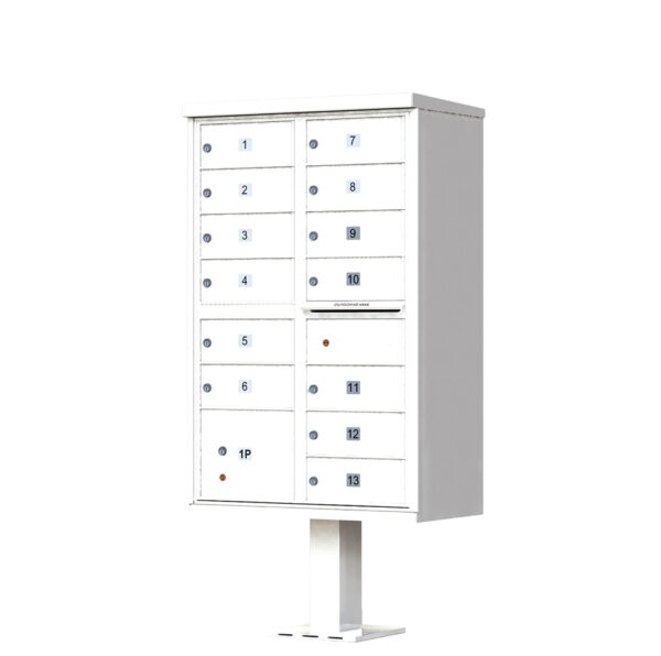 1570-13 13 Tenant Door Cluster Mailbox Unit – CBU