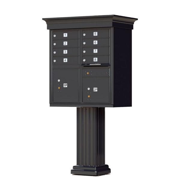 1570-8V 8 Tenant Door Classic Decorative Cluster Mailbox Unit–CBU