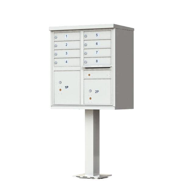 1570-8 8 Tenant Door Cluster Mailbox Unit – CBU