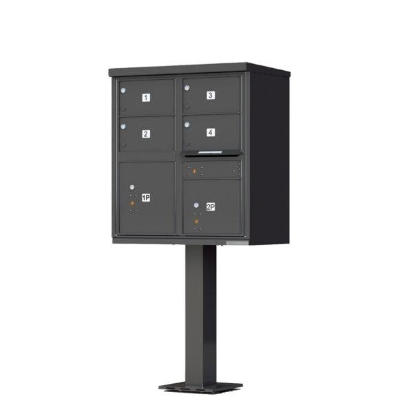 1570-4T5 4 Tenant Door Cluster Mailbox Unit – CBU