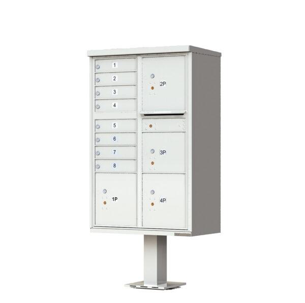 1570-8T6 8 Tenant Door 4 Parcel Cluster Mailbox Unit – CBU