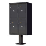 1590T2 OPL 4 Parcel Outdoor Parcel Locker – OPL