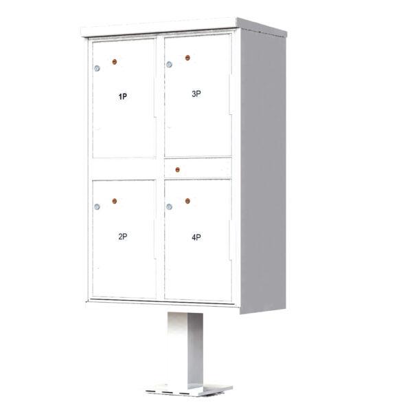 1590T2 OPL 4 Parcel Outdoor Parcel Locker – OPL
