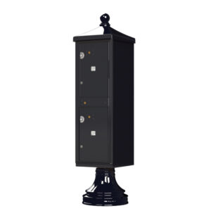 2 Parcel Outdoor Parcel Locker - Traditional Decorative