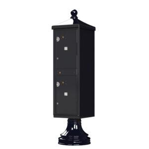2 Parcel Outdoor Parcel Locker - Traditional Decorative