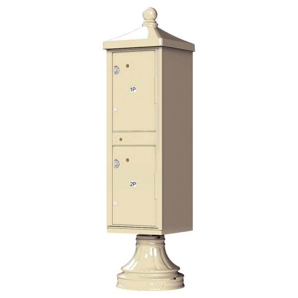 Sandstone 2 Parcel Outdoor Parcel Locker Traditional Decorative