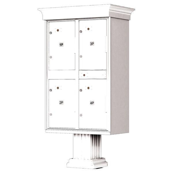 1590_T2V Outdoor Parcel Locker CBU Traditional Decorative