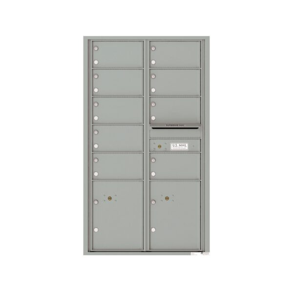 4C15D-09 9 Tenant Door 15 High 4C Front Loading Mailbox