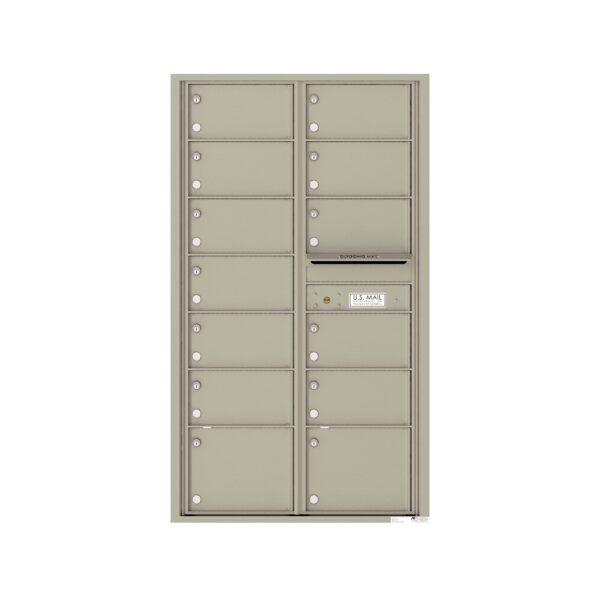4C15D-13 13 Tenant Door 15 High 4C Front Loading Mailbox