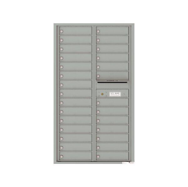 4C15D-28 28 Tenant Door 15 High 4C Front Loading Mailbox