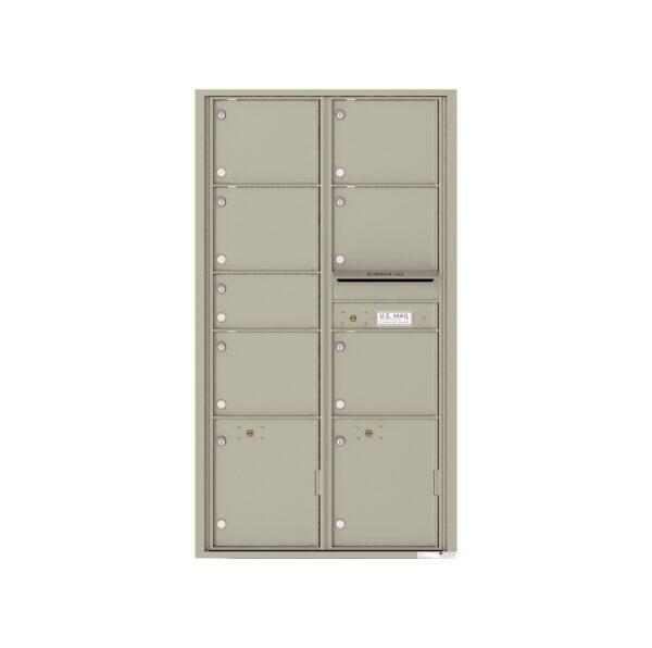 4C16D-07 7 Tenant Door Max-Height 4C Front Loading Mailbox