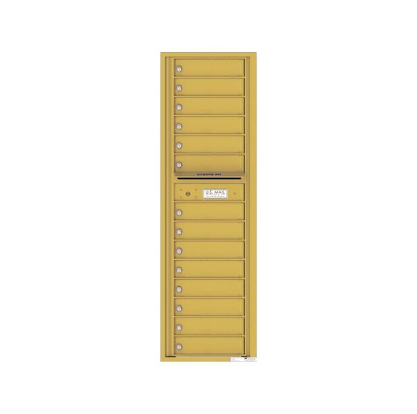 4C16S-14 14 Tenant Door Max-Height Single Column 4C Front Loading Mailbox