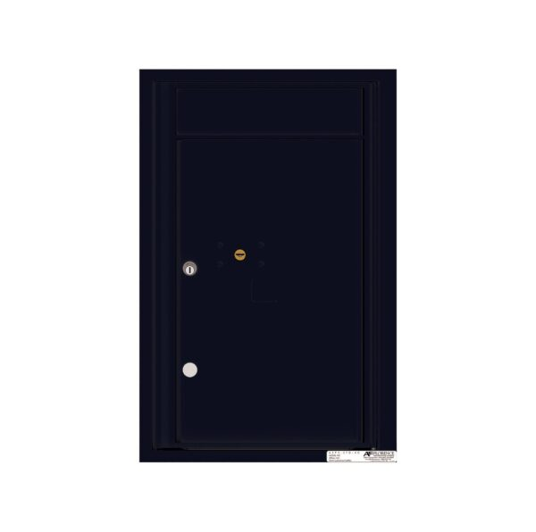 4C07S-1P 1 Parcel 7 High Single Column 4C Front Loading Outdoor Parcel Locker