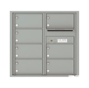 4C08D-07 7 Tenant Door 8 High 4C Front Loading Mailbox