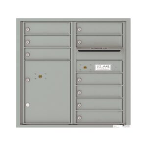 4C08D-09 9 Tenant Door 8 High 4C Front Loading Mailbox