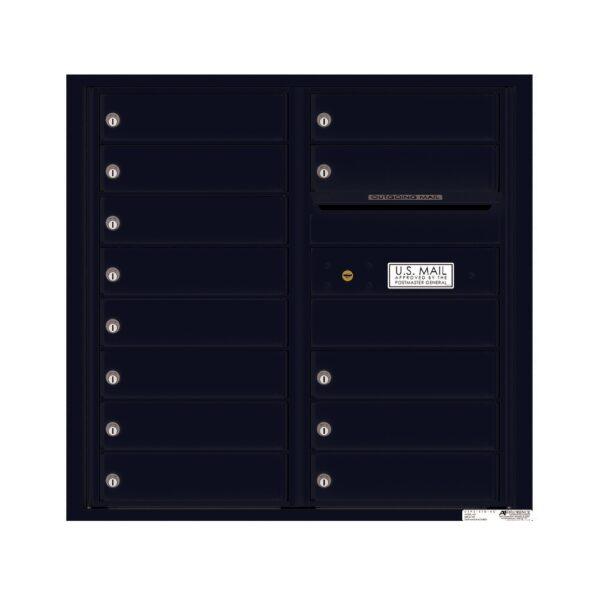4C08D-13 13 Tenant Door 8 High 4C Front Loading Mailbox