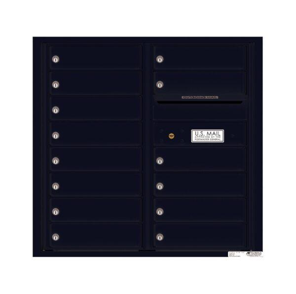 4C08D-14 14 Tenant Door 8 High 4C Front Loading Mailbox