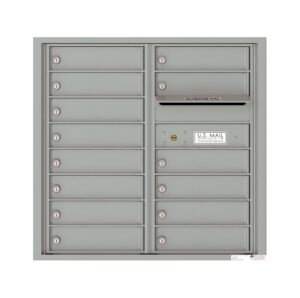 4C08D-14 14 Tenant Door 8 High 4C Front Loading Mailbox