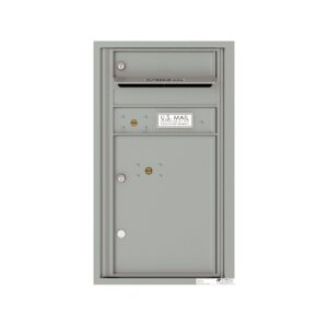 4C08S-01 1 Tenant Door 8 High Single Column 4C Front Loading Mailbox