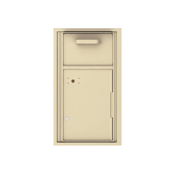 4C08S-HOP Mail Collection / Drop Box 8 High Single Column 4C Front Loading