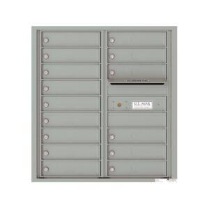 4C09D-15 15 Tenant Door 9 High 4C Front Loading Mailbox