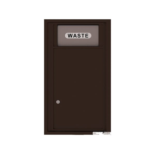 4C09S-BIN Trash / Recycling Bin 9 High Single Column 4C Front Loading