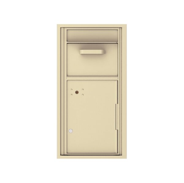 4C09S-HOP Mail Collection / Drop Box 9 High Single Column 4C Front Loading