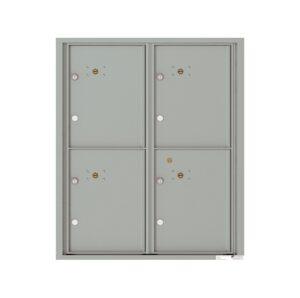 4C10D-4P 4 Parcel 10 High 4C Front Loading Outdoor Parcel Locker