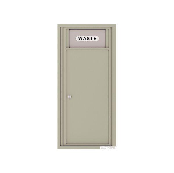 4C10S-BIN Trash / Recycling Bin 10 High Single Column 4C Front Loading