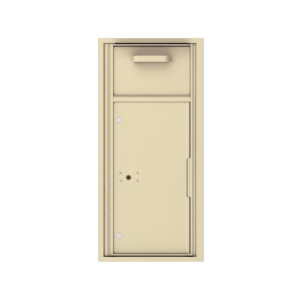 4C10S-HOP Mail Collection / Drop Box 10 High Single Column 4C Front Loading