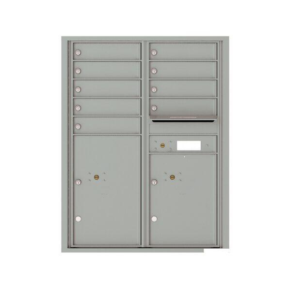 4C11D-09 9 Tenant Door 11 High 4C Front Loading Mailbox
