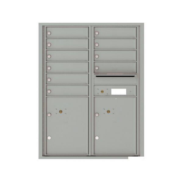 4C11D-10 10 Tenant Door 11 High 4C Front Loading Mailbox