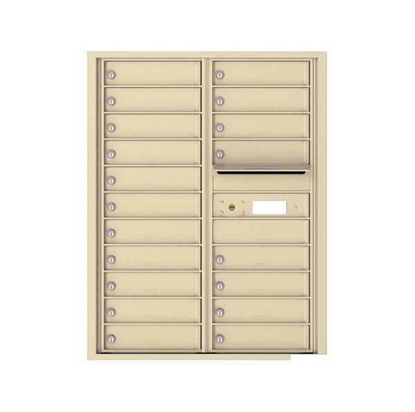 4C11D-19 19 Tenant Door 11 High 4C Front Loading Mailbox
