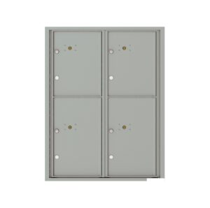 4C11D-4P 4 Parcel 11 High 4C Front Loading Outdoor Parcel Locker