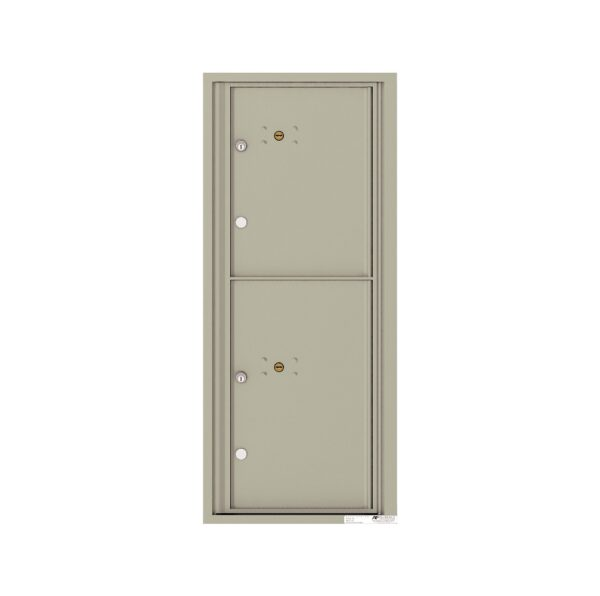 4C11S-2P 2 Parcel 11 High 4C Front Loading Outdoor Parcel Locker