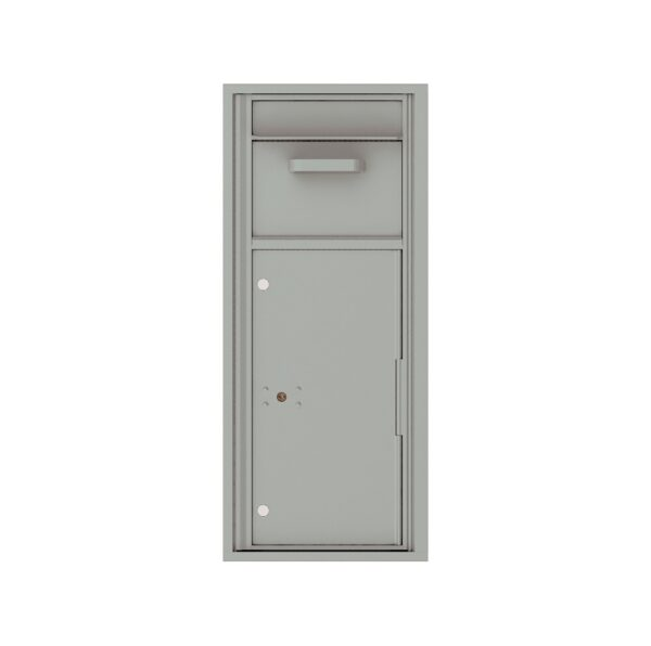 4C11S-HOP Mail Collection / Drop Box 11 High Single Column 4C Front Loading