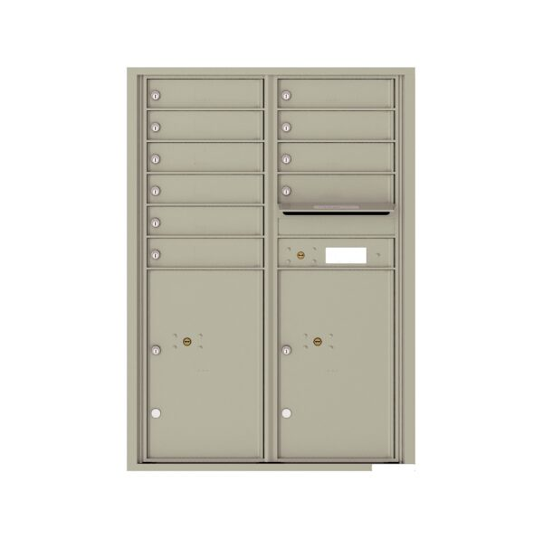 4C12D-10 10 Tenant Door 12 High 4C Front Loading Mailbox