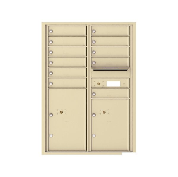 4C12D-11 11 Tenant Door 12 High 4C Front Loading Mailbox