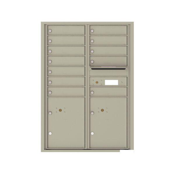 4C12D-12 12 Tenant Door 12 High 4C Front Loading Mailbox