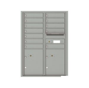 4C12D-12 12 Tenant Door 12 High 4C Front Loading Mailbox
