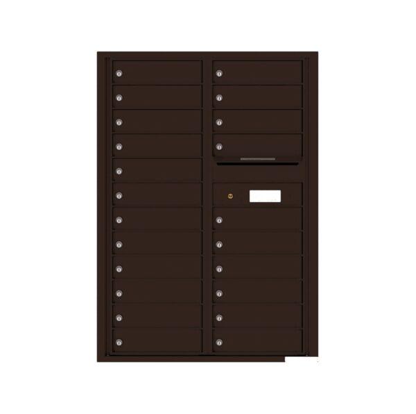 4C12D-22 22 Tenant Door 12 High 4C Front Loading Mailbox