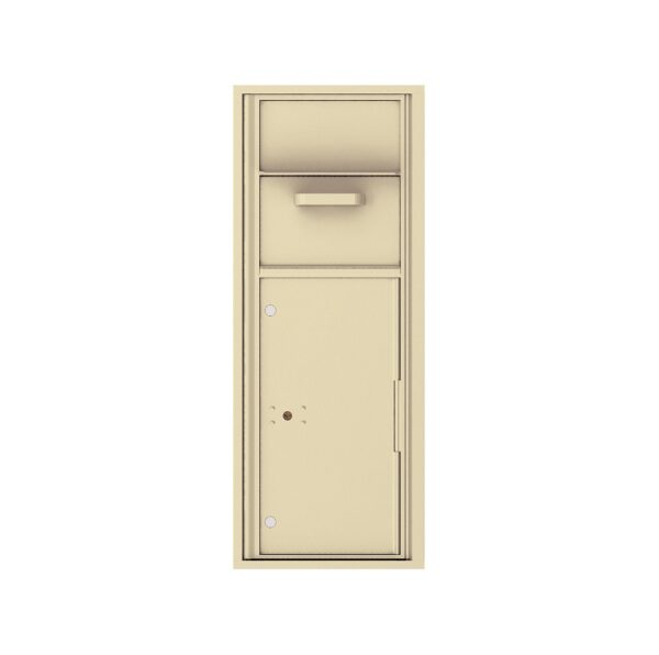 4C12S-HOP Mail Collection / Drop Box 12 High Single Column 4C Front Loading