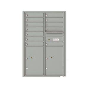 4C13D-12 12 Tenant Door 13 High 4C Front Loading Mailbox