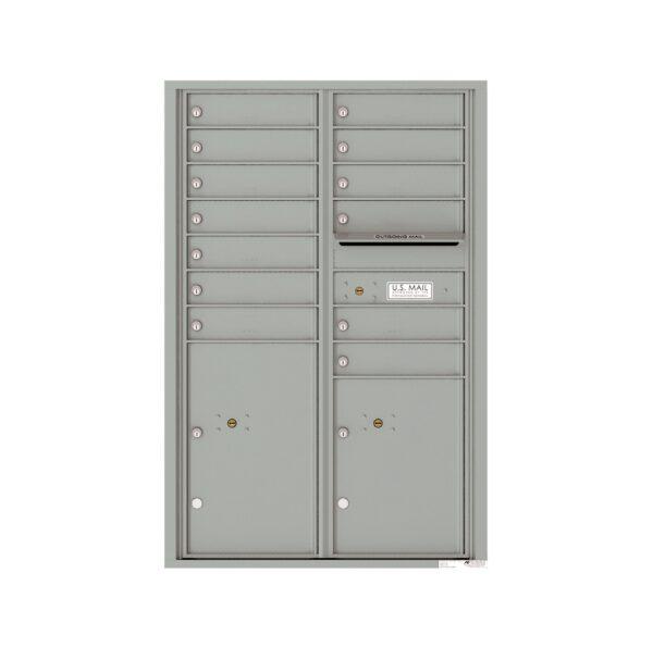 4C13D-13 13 Tenant Door 13 High 4C Front Loading Mailbox